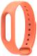 Ремешок для фитнес-трекера Xiaomi Mi Band 2 (оранжевый) -