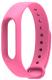Ремешок для фитнес-трекера Xiaomi Mi Band 2 (розовый) -