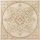 Декоративная плитка Italon НЛ-Стоун Айвори Блум (600x600) -