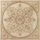 Декоративная плитка Italon НЛ-Стоун Алмонд Блум (600x600) -