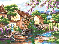 Картина по номерам Picasso Цветущий причал (PC3040057) -