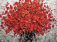 Картина по номерам Picasso Красный букет (PC3040058) -