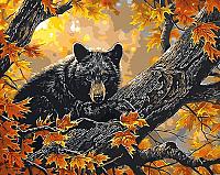 Картина по номерам Picasso Мишка на дереве (PC4050207) -