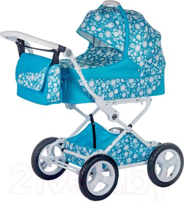 Детская универсальная коляска Babyhit Evenly Plus 2 в 1 (Aquamarine)