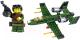 Конструктор Kazi Военный самолет 84034-4 -