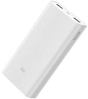 Портативное зарядное устройство Xiaomi Mi Power Bank v2 20000mAh / PLM05ZM (белый) -