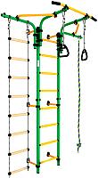 Детский спортивный комплекс Romana S5 ДСКМ-2С-8.06.Т1.410.01-14 (зеленый/желтый) -