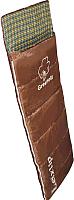 Спальный мешок GREENELL Лейкслип (правый, коричневый) -