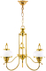 Люстра Arte Lamp Armstrong A3560LM-3GO -