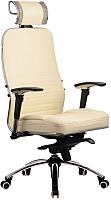 Кресло офисное Metta Samurai KL-3 (бежевый) -