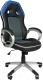 Кресло офисное Everprof Drive (черный/синий) -