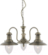 Люстра Arte Lamp Fisherman A5518LM-3AB -