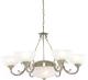 Люстра Arte Lamp Windsor White A3777LM-6-2AB -