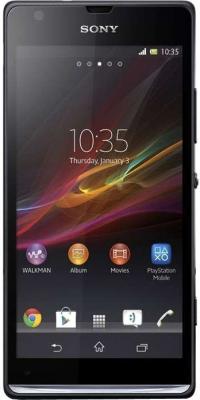 Смартфон Sony Xperia SP (C5303) Black - общий вид