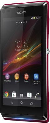 Смартфон Sony Xperia L (C2105) Red - общий вид