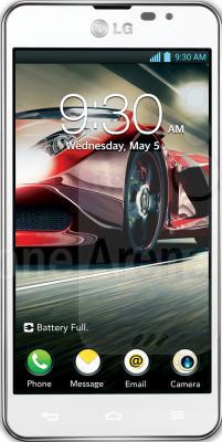 Смартфон LG P875 Optimus F5 White - вид спереди