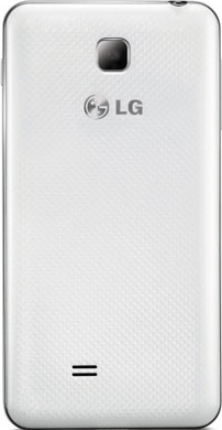 Смартфон LG P875 Optimus F5 White - вид сзади