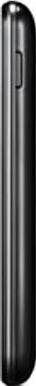Смартфон LG E445 Optimus L4 II Dual Black - вид сбоку