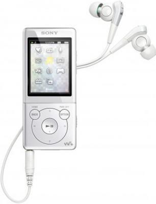 MP3-плеер Sony NWZ-E573 White - общий вид