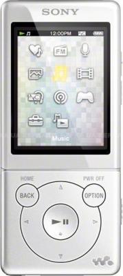 MP3-плеер Sony NWZ-E574 White - общий вид