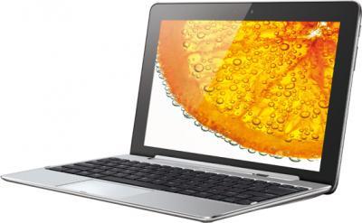 Планшет Huawei MediaPad 10 FHD 8GB (S10-101u White) - общий вид с клавиатурой