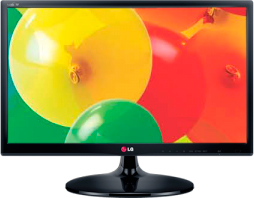Телевизор LG 27MA53V-PZ Black - вид спереди