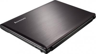 Ноутбук Lenovo IdeaPad G580 (59359893) - крышка