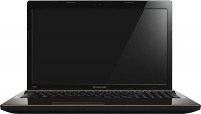 Ноутбук Lenovo IdeaPad G580 (59362130) - фронтальный вид