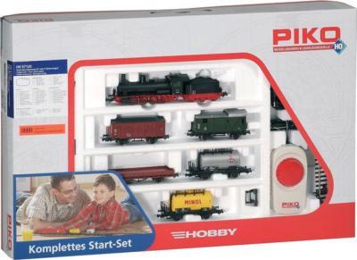 Железная дорога детская Piko Паровоз с грузовым составом (57120) - упаковка