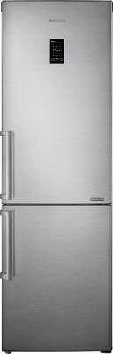 Холодильник с морозильником Samsung RB30FEJNCSS - вид спереди