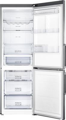 Холодильник с морозильником Samsung RB30FEJNCSS - внутренний вид