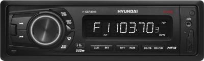 Бездисковая автомагнитола Hyundai H-CCR8096 Black - общий вид