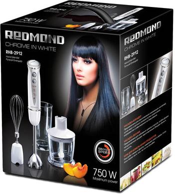 Блендер погружной Redmond RHB-2912 (белый) - упаковка