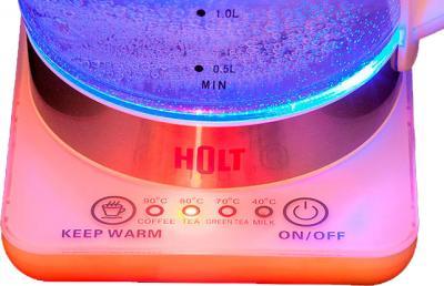 Электрочайник Holt HT-KT-001 (белый + заварник TI-001) - приближенное изображение