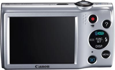 Компактный фотоаппарат Canon PowerShot A2500 Red - вид сзади