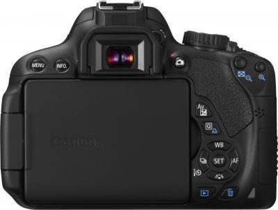 Зеркальный фотоаппарат Canon EOS 650D Kit 18-55 DC - вид сзади