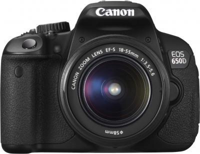 Зеркальный фотоаппарат Canon EOS 650D Kit 18-55 DC - общий вид