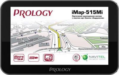 GPS навигатор Prology iMap-515Mi - вид спереди