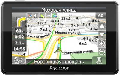GPS навигатор Prology iMap-536BT - вид спереди