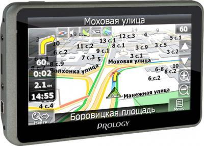 GPS навигатор Prology iMap-536BT - вид сбоку