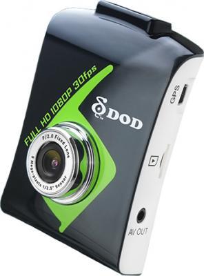 Автомобильный видеорегистратор DOD VRH3 - общий вид