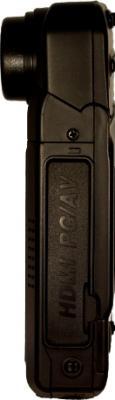 Автомобильный видеорегистратор КАРКАМ Q2 - вид сбоку