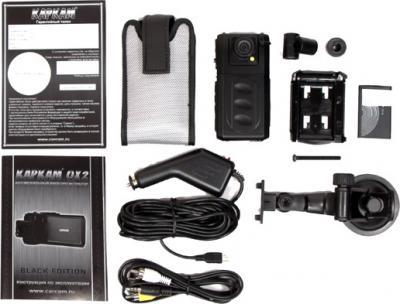 Автомобильный видеорегистратор КАРКАМ QX2 - комплектация