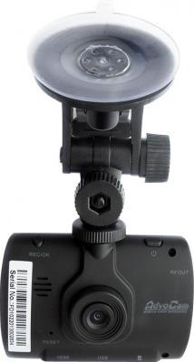 Автомобильный видеорегистратор AdvoCam FD1 - фронтальный вид с крепрлением