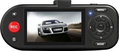 Автомобильный видеорегистратор AdvoCam FD4 Profi-GPS - дисплей