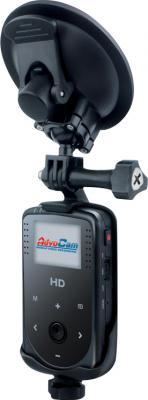 Автомобильный видеорегистратор AdvoCam HD1 - общий вид с креплением