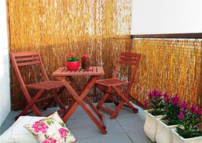 Изгородь декоративная Sundays 5730 (из рисовой соломы) - пример использования
