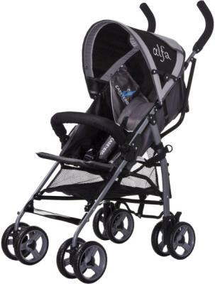 Детская прогулочная коляска Caretero Alfa (Black) - общий вид