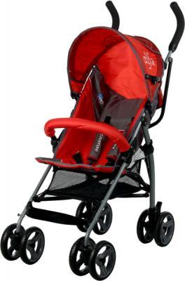 Детская прогулочная коляска Caretero Alfa (Red) - общий вид