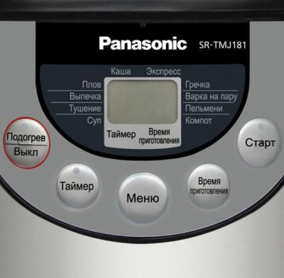 Мультиварка Panasonic SR-TMJ181BTW - панель управления